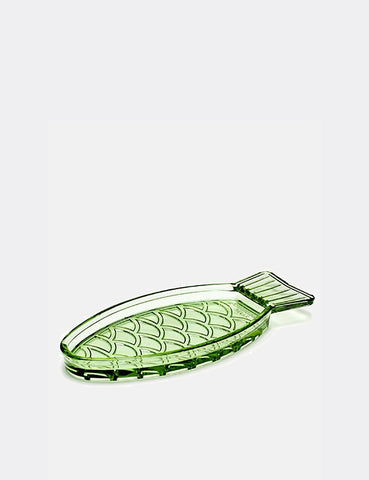 Serax Fish Dish Glass (Small) - Green