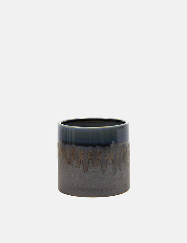 Serax Misty Blue Glaze Pot (Small) - Blue