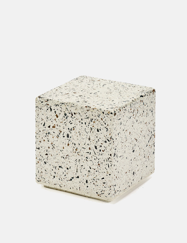 Serax Terrazzo Square Side Table (Small) - Grey