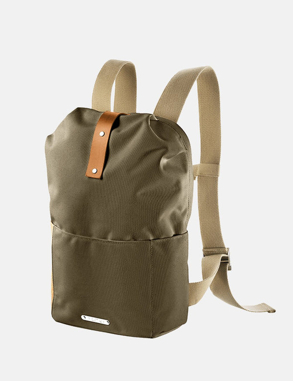 Brooks Dalston Utility Knapsack Small Backpack - Green Fleck
