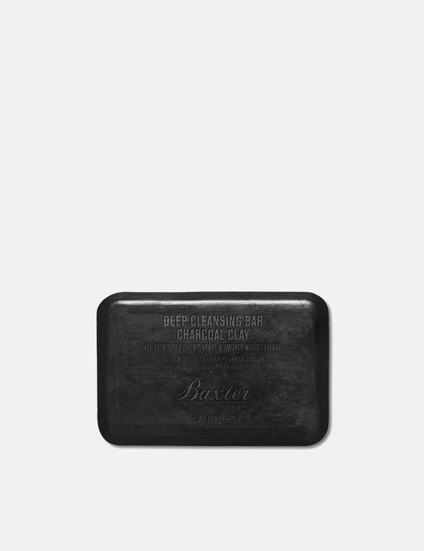 Baxter of California Deep Cleansing Bar (198g) - Charcoal Clay - Article