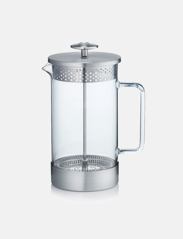Barista & Co Core Coffee Press (8 Cup/3 Mug) - Steel
