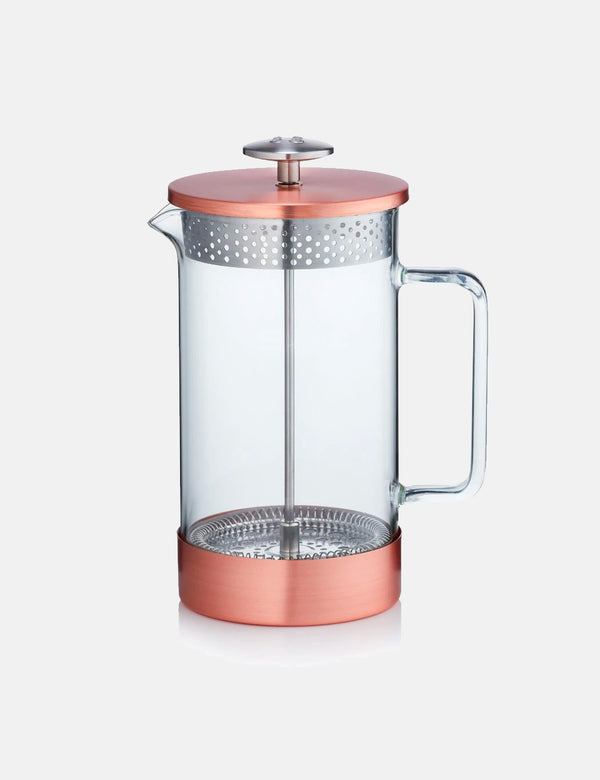Barista & Co Core Coffee Press (8 Cup/3 Mug) - Copper