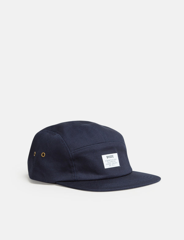 Bhode 5-Panel Cap - Midnight Navy