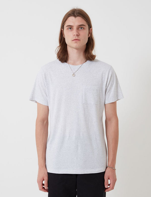 T-Shirt Bhode - Grey Marl