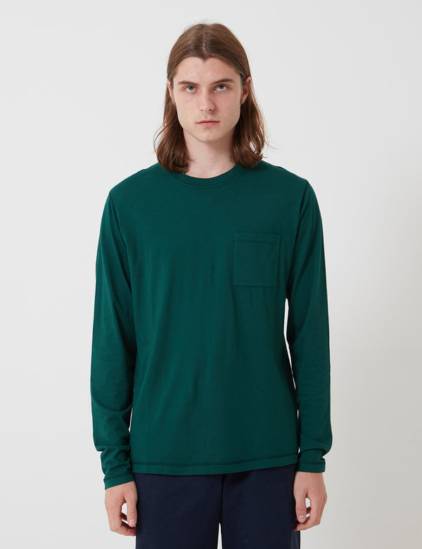 Bhode Besuto L/S T-Shirt - Forest Green