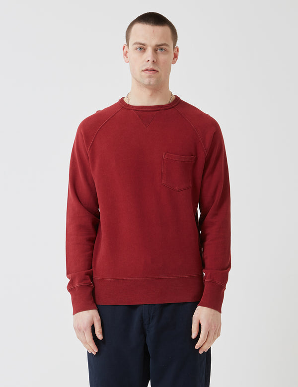 Bellerose Vadali Sweatshirt - Dried Tomato Red