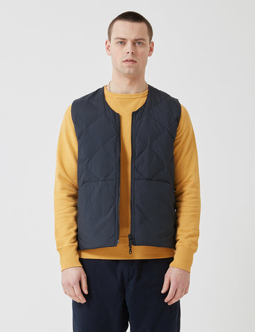 Bellerose Ness Jacket - Navy Blue/Yellow