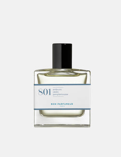 Bon Parfumeur 801 Perfume (30ml) - Sea Spray/Cedar/Grapefruit