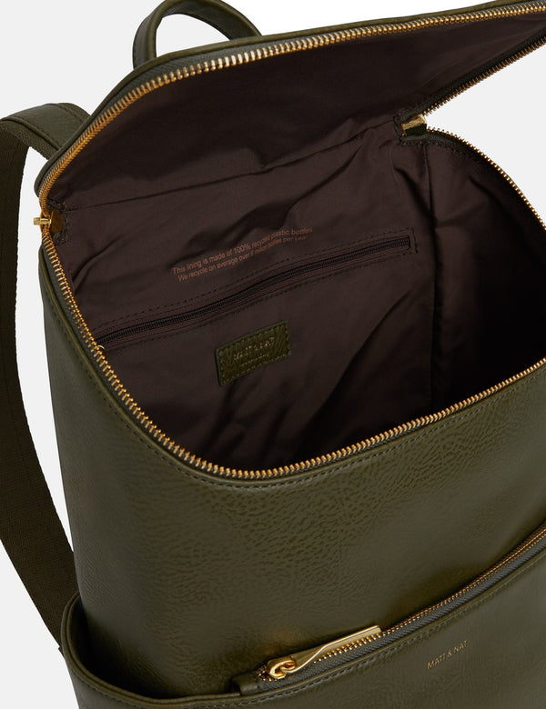 Matt & Nat Brave Backpack - Leaf Green