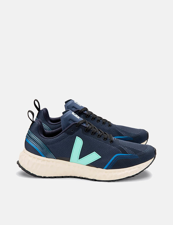 Veja Condor Running Shoes - Nautico/Turquoise/Butter Sole