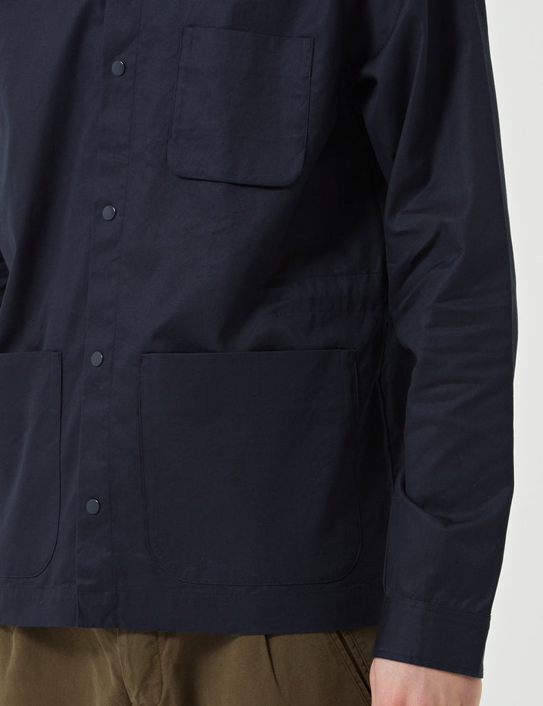 Folk Painters Jacket - Navy Blue
