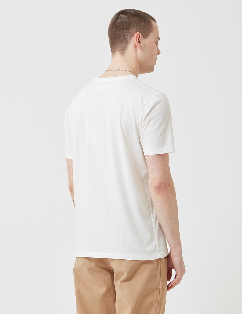 Folk Assembly Tee - White