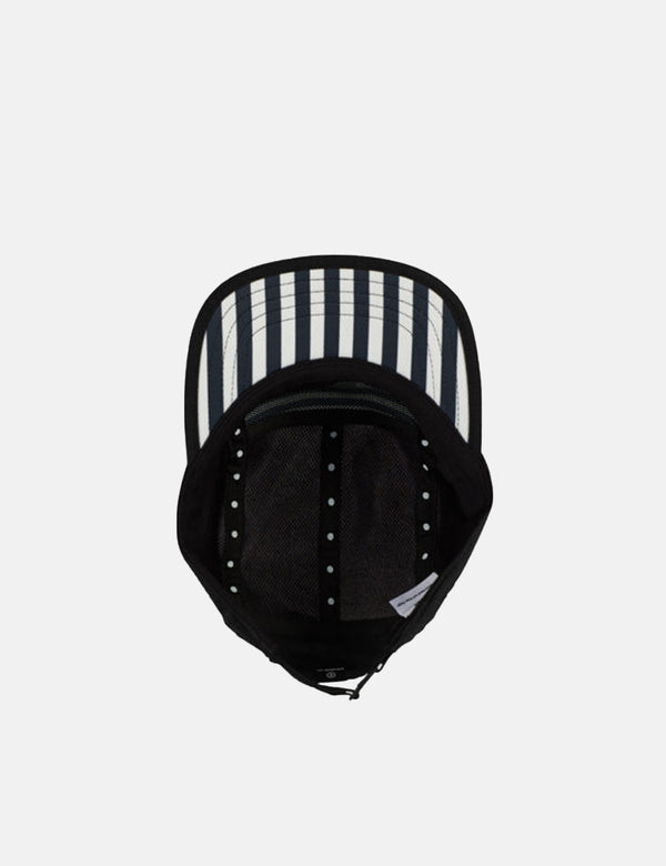 Ciele Athletics GO Cap (Stripes) - Blackbars Black