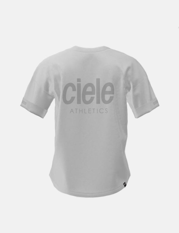 Ciele Athletics WNSB Leichtathletik-T-Shirt (Trooper) - Weiß