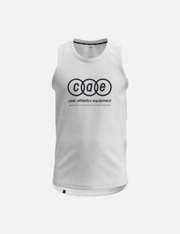 Ciele Athletics Womens WNSB Tank (Accent) - Trooper White
