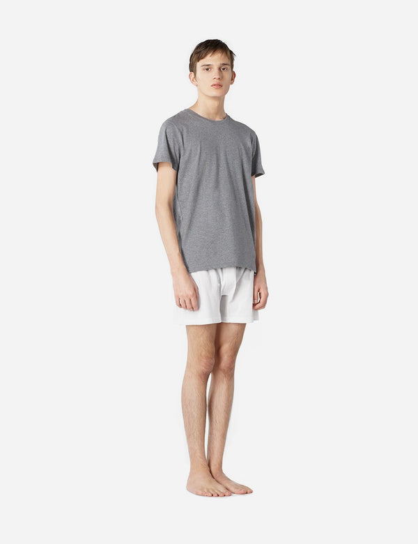 A.P.C. Calecon Cabourg Boxer Shorts - White - Article