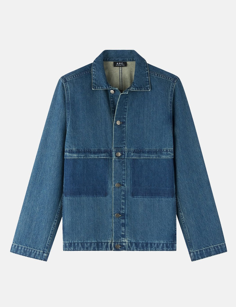 A.P.C. Smith Jacket - Indigo Blue - Article