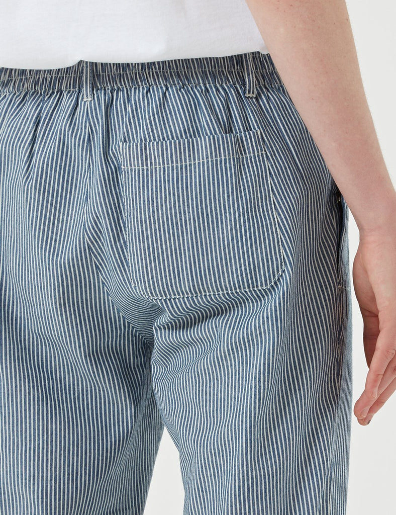 A.P.C. Pantalon Donnie Trousers (Hickory Stripe) - Indigo Blue - Article