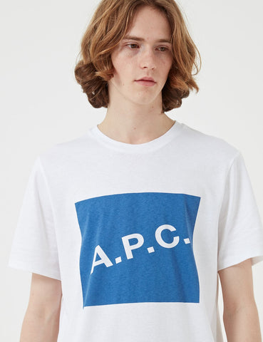 A.P.C. Kraft T-shirt - White - Article