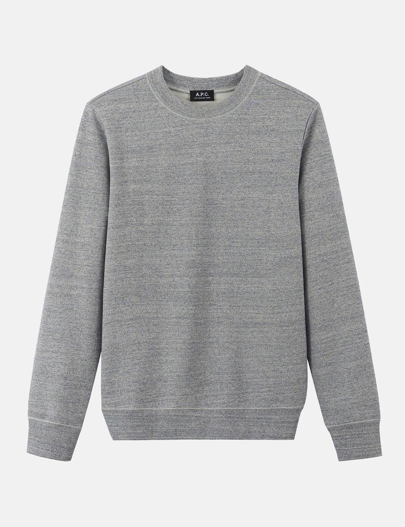 A.P.C. Mecano Sweatshirt - Heathered Blue/Grey - Article