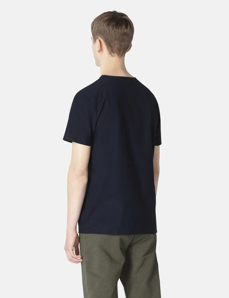 A.P.C. Yukata T-Shirt - Dark Navy Blue