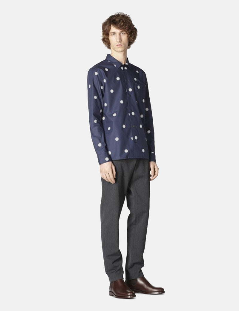 A.P.C. Sun Shirt - Dark Navy Blue - Article