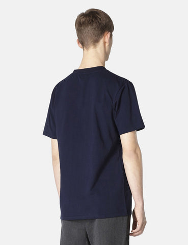 A.P.C. Burnette T-shirt - Dark Navy Blue - Article