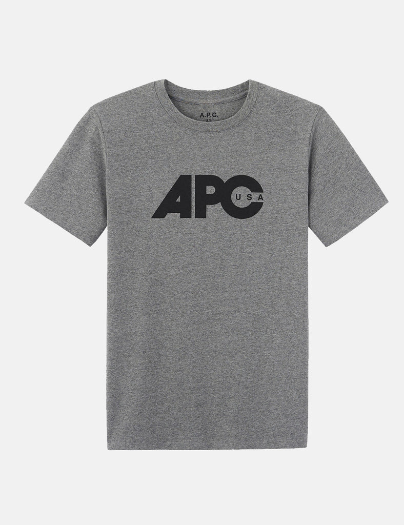 A.P.C. Johnny T-shirt - Heather Grey - Article
