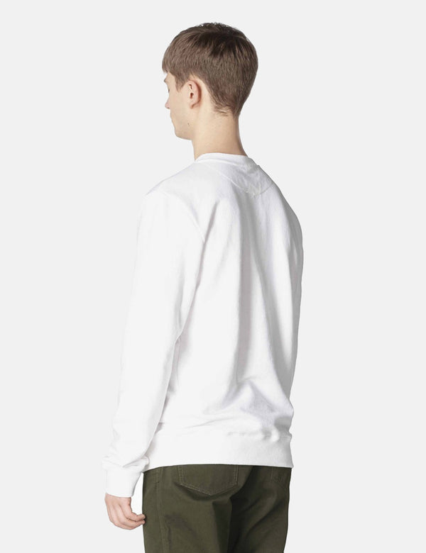 A.P.C. Vince Sweatshirt - White - Article