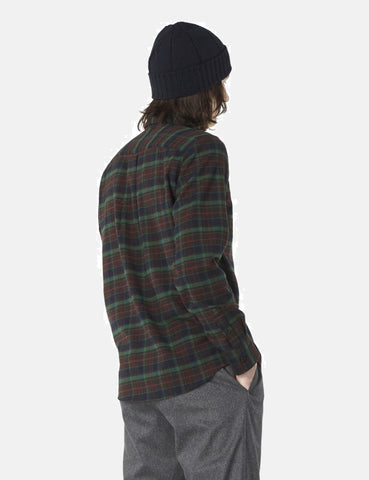 A.P.C. Timber Overshirt - Dark Chestnut Brown - Article