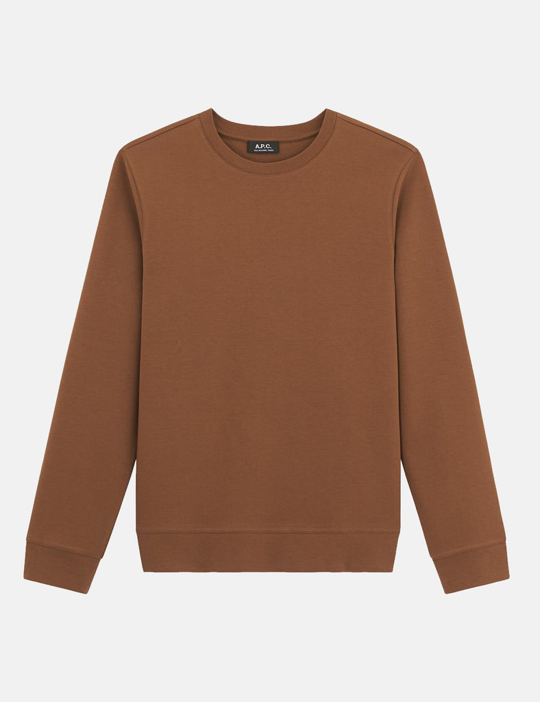 A.P.C. Jess Sweatshirt - Camel - Article