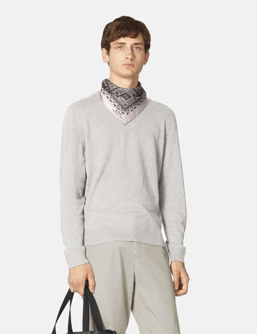 A.P.C. Colin Knit Sweatshirt - Grey