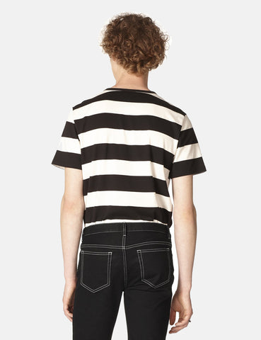 A.P.C. Archie T-Shirt - Black/White