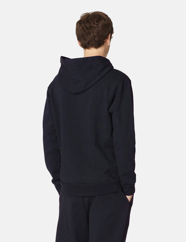 A.P.C. Wayne Hooded Sweatshirt - Dark Navy Blue