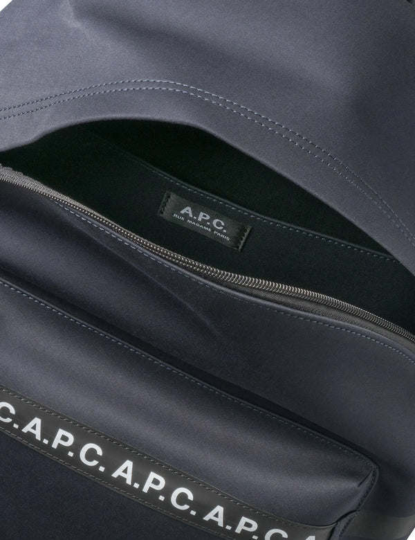 A.P.C. Saville Backpack - Dark Navy Blue