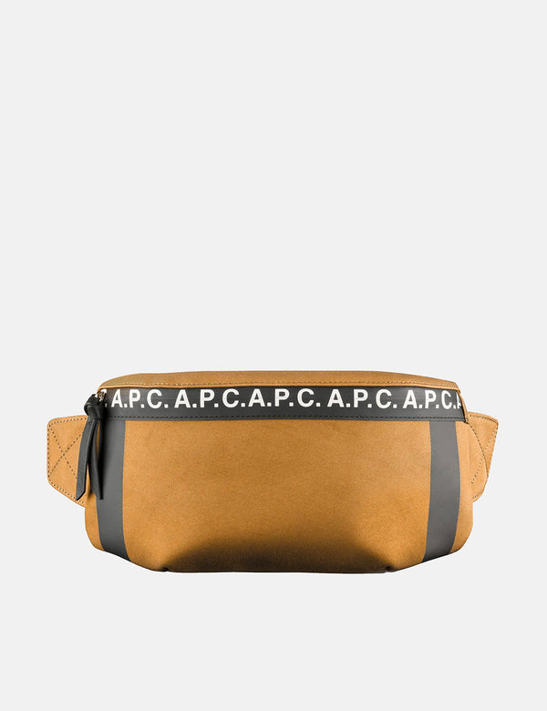 A.P.C. Savile Hip Bag - Camel