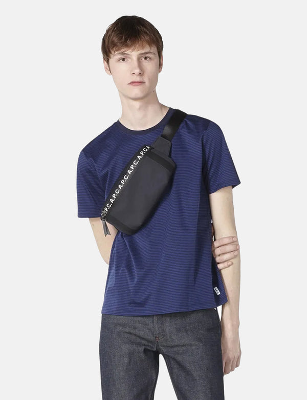 A.P.C. Banane Saville Hip Bag - Dark Navy Blue