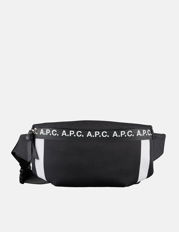 A.P.C. Savile Hip Bag - Black