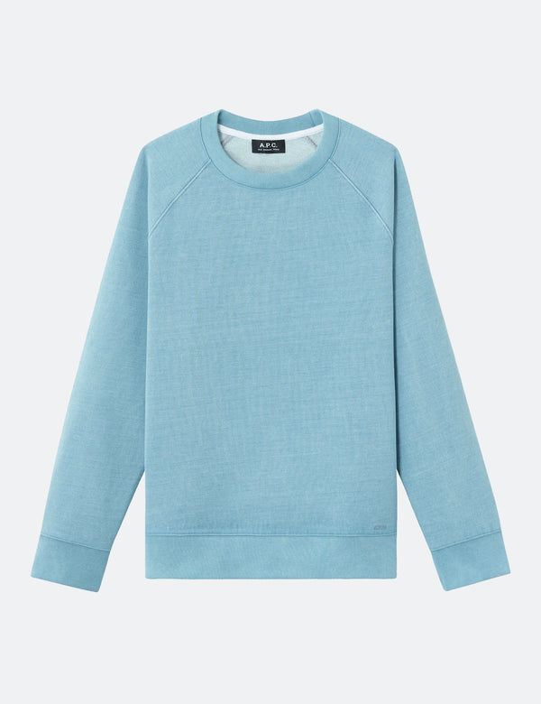 A.P.C. Robert Sweatshirt - Pale Blue