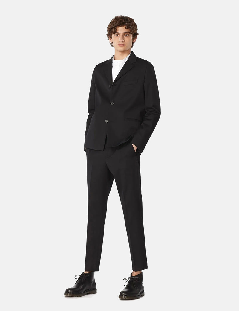 A.P.C. Foxton Trouser (Cotton/Wool) - Black