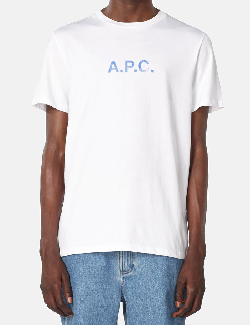 A.P.C. Stamp T-Shirt (Organic Cotton) - White