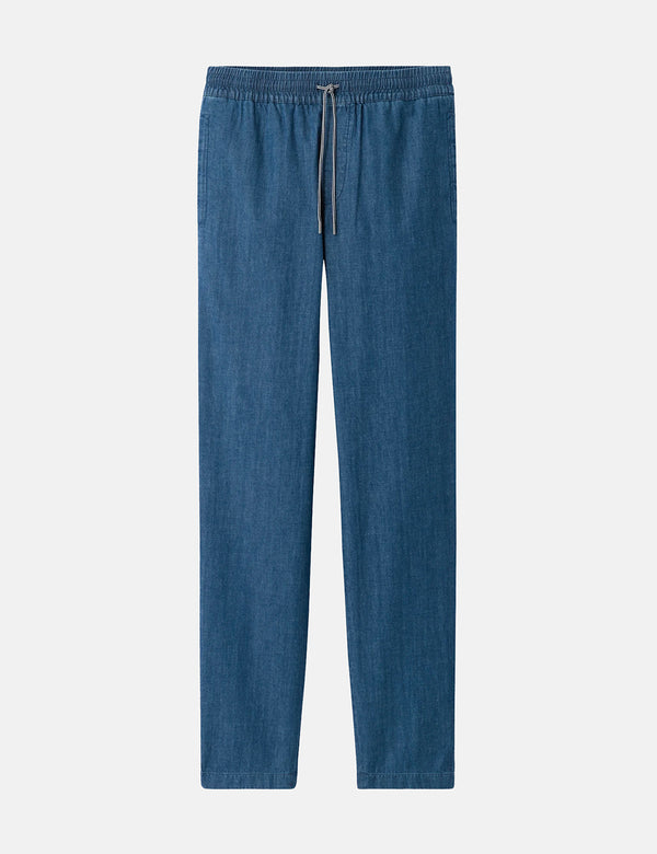 A.P.C. Kaplan Pants (Light Denim) - Stonewashed Indigo