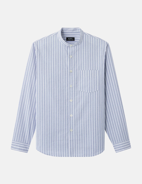 A.P.C. Alejandro Shirt - Steel Blue