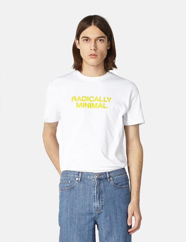 A.P.C. Radically Minimal T-Shirt - White