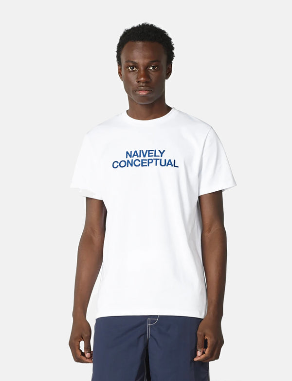 A.P.C. Naively Conceptual T-Shirt - White
