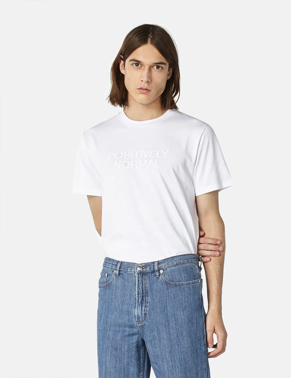 A.P.C. Positively Normal T-Shirt - White