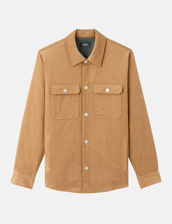 A.P.C. Alex Jacket - Tobacco
