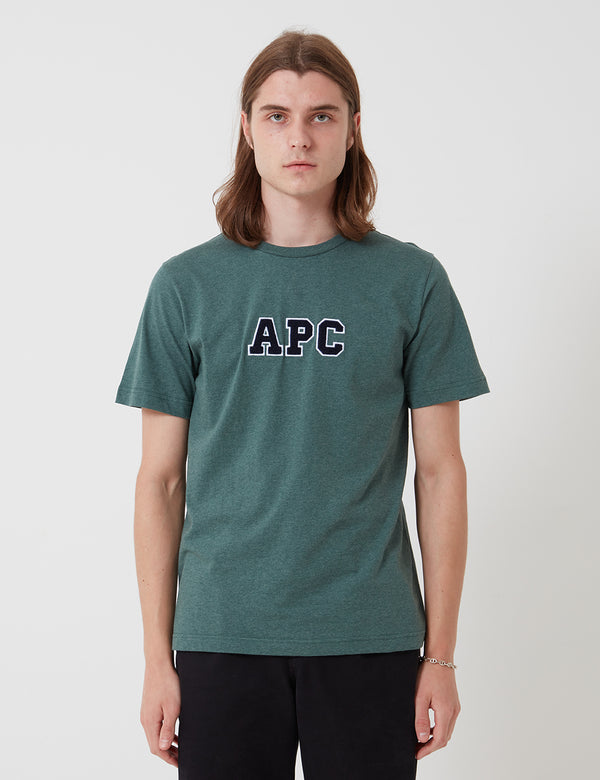 A.P.C. Gael T-Shirt - Heather Green