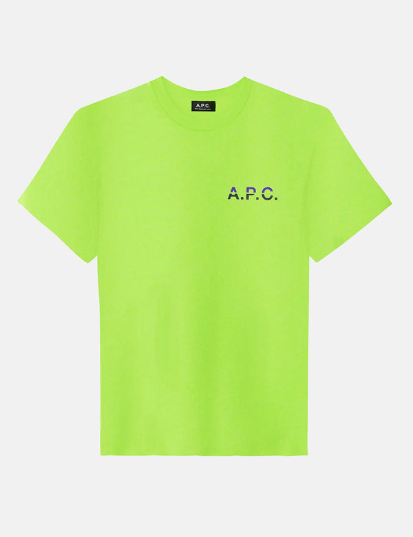 A.P.C. David T-Shirt - Flashy Green